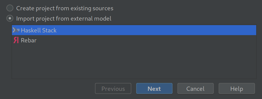 Importing the stack project into IntelliJ